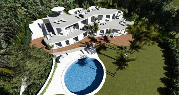 Rénovation d'une villa de luxe