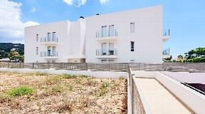 Nouvel appartement de construction moderne à Jésus près d'Ibiza